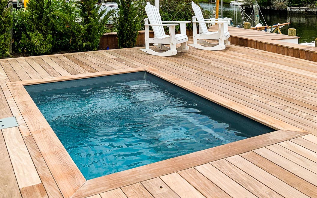 Small Backyard Pools That Are Big Fun Leisure Pools New Zealand