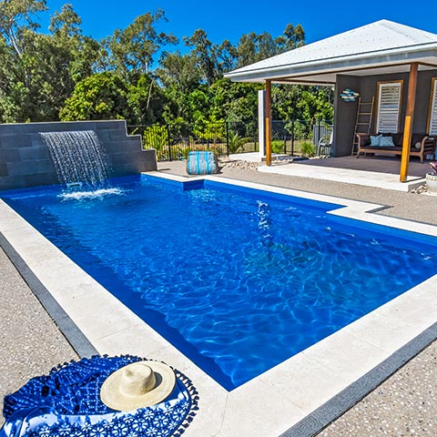 Leisure Pools Sapphire Blue Gelcoat Colour Hero