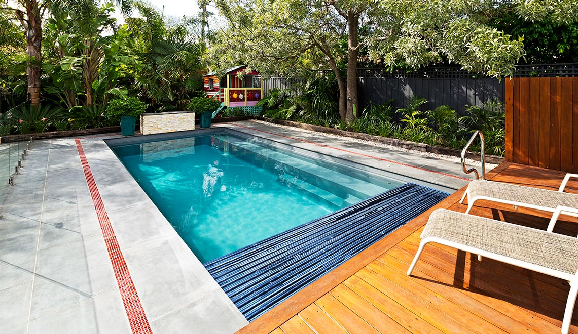 Leisure Pools Reflection with Auto Cover Graphite Grey